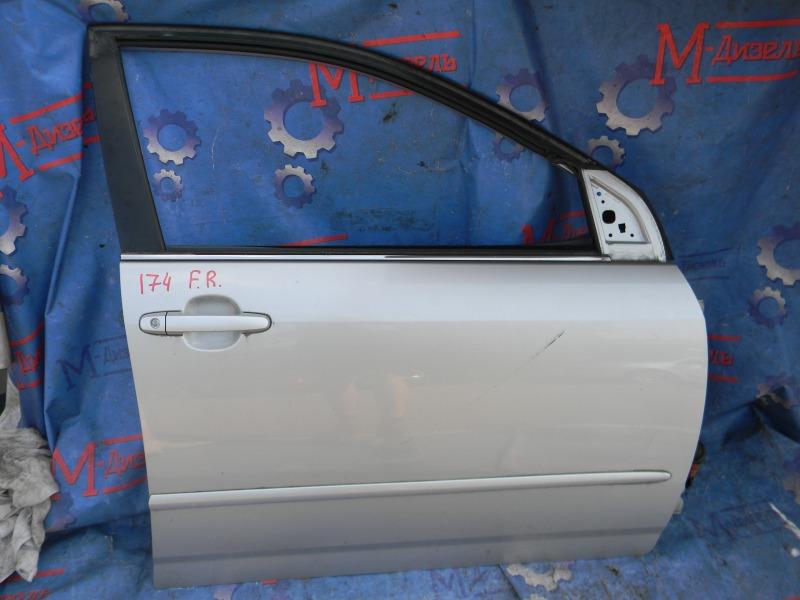 Дверь боковая Toyota Corolla NZE124 1NZ-FE 2000 передняя правая