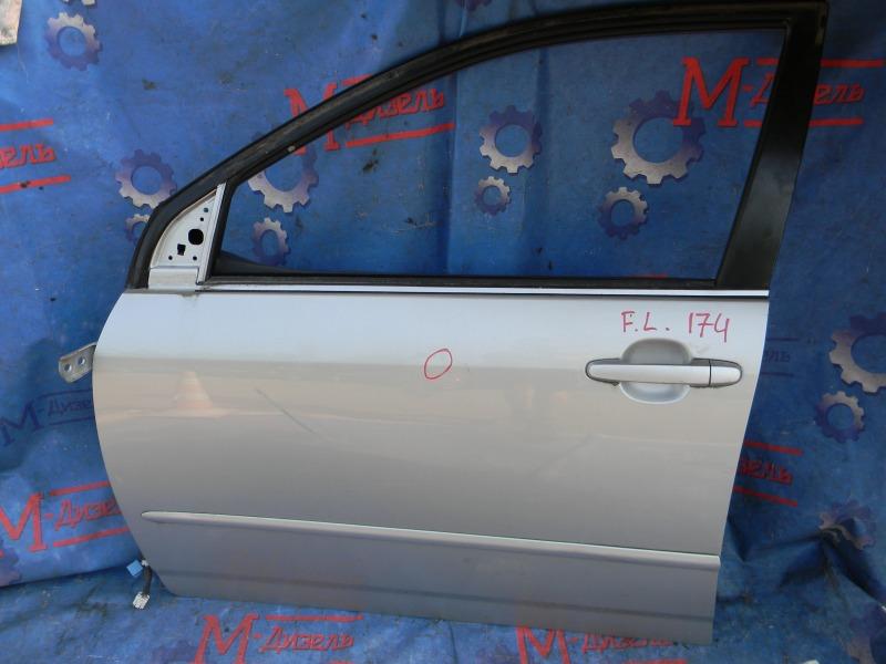 Дверь боковая Toyota Corolla NZE124 1NZ-FE 2000 передняя левая