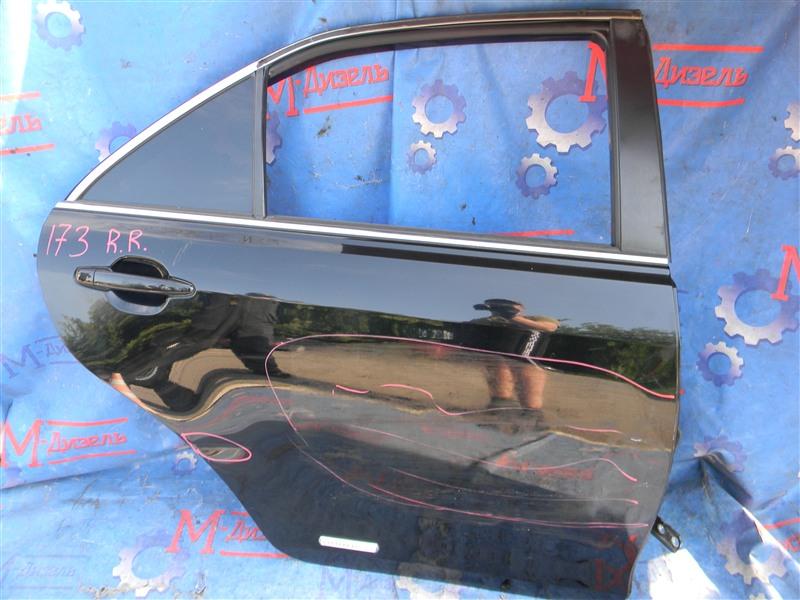 Дверь боковая Toyota Camry ACV40 2AZ-FE 2009 задняя правая