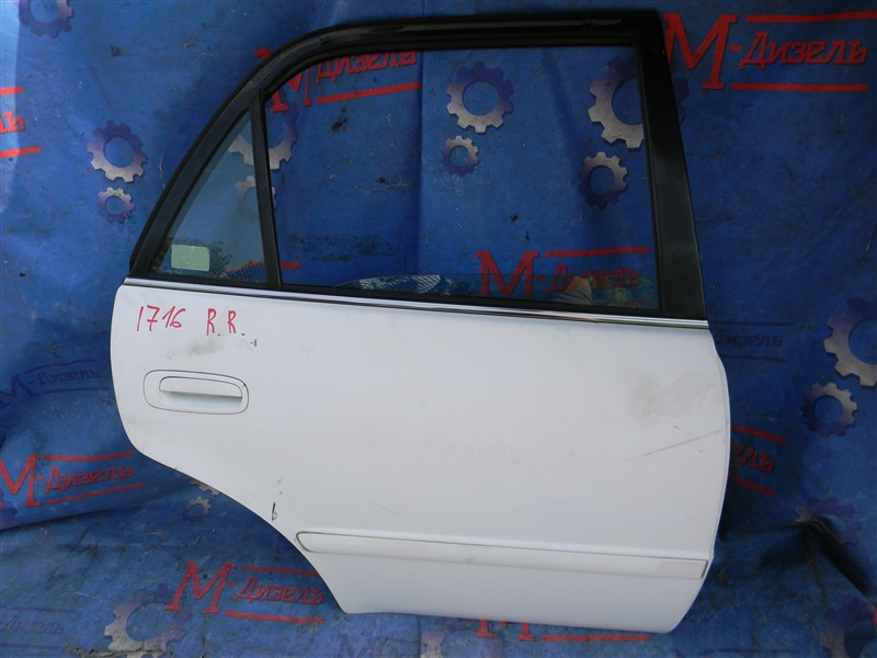Дверь боковая Toyota Corolla AE110 5A-FE 1998 задняя правая