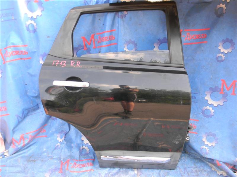 Дверь боковая Nissan Qashqai KJ10 MR20DE 2011 задняя правая