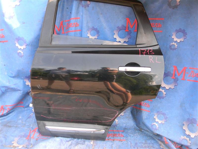Дверь боковая Nissan Qashqai KJ10 MR20DE 2011 задняя левая
