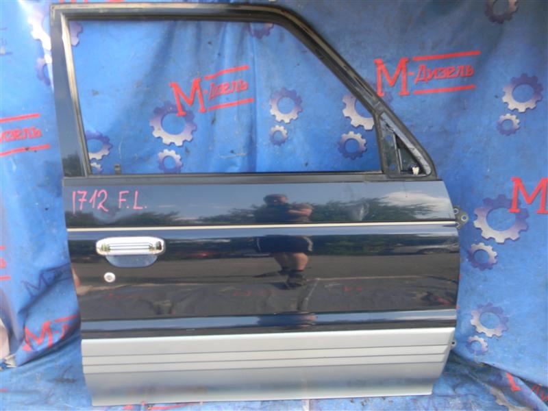Дверь боковая Mitsubishi Pajero V26W 4M40-T 1995 передняя правая