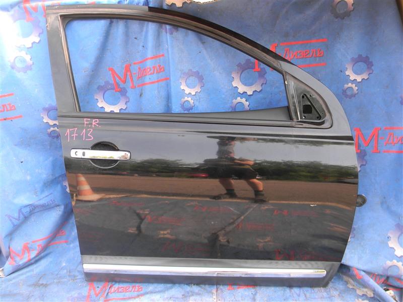 Дверь боковая Nissan Qashqai KJ10 MR20DE 2011 передняя правая