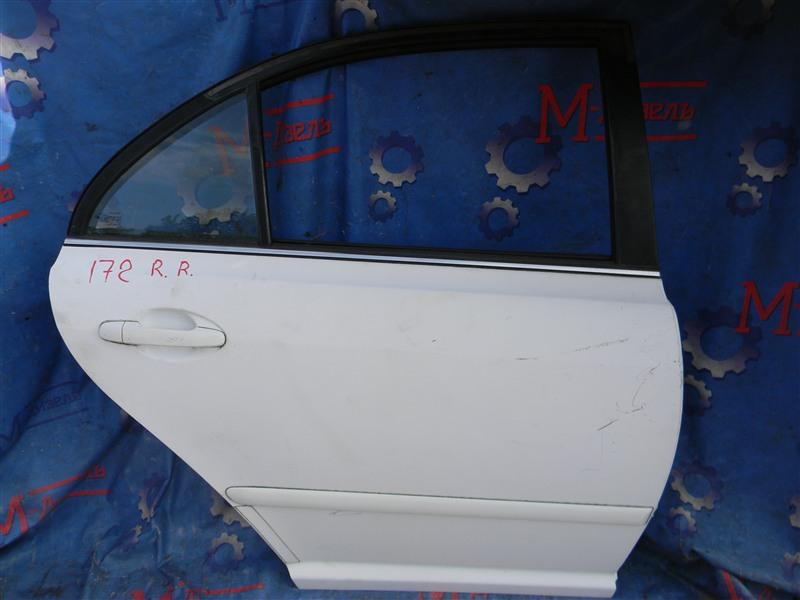 Дверь боковая Toyota Avensis AZT251 2AZ-FSE 2007 задняя правая