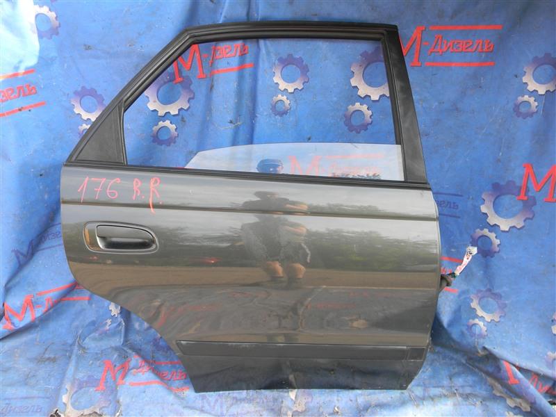 Дверь боковая Toyota Corona Sf ST190 4S-FE 1995 задняя правая