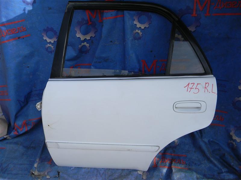 Дверь боковая Toyota Corolla AE110 5A-FE 1998 задняя левая