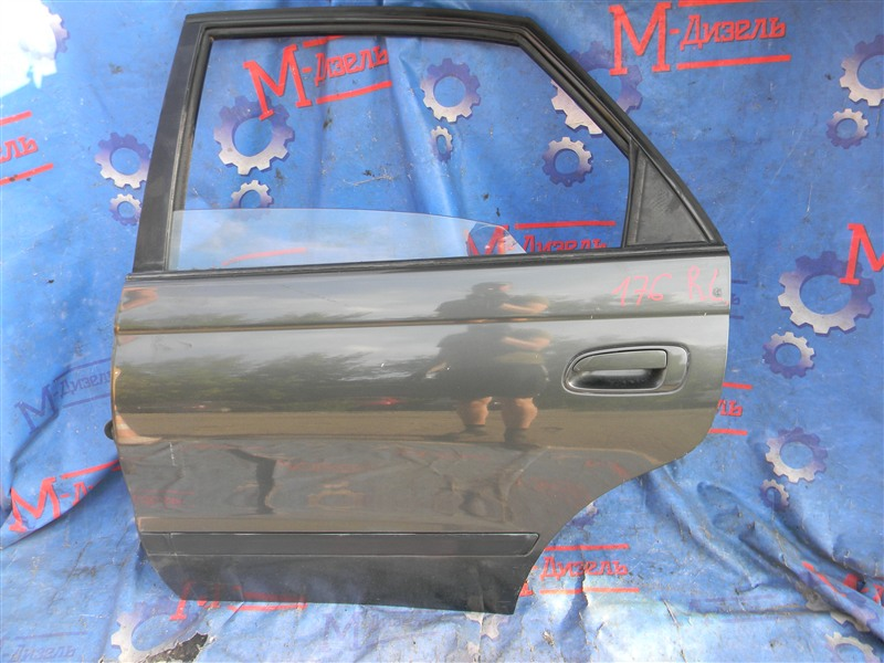 Дверь боковая Toyota Corona Sf ST190 4S-FE 1995 задняя левая