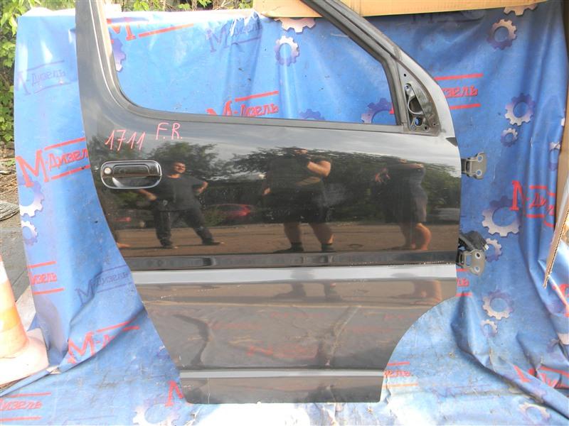 Дверь боковая Toyota Granvia VCH10 5VZ-FE 2001 передняя правая