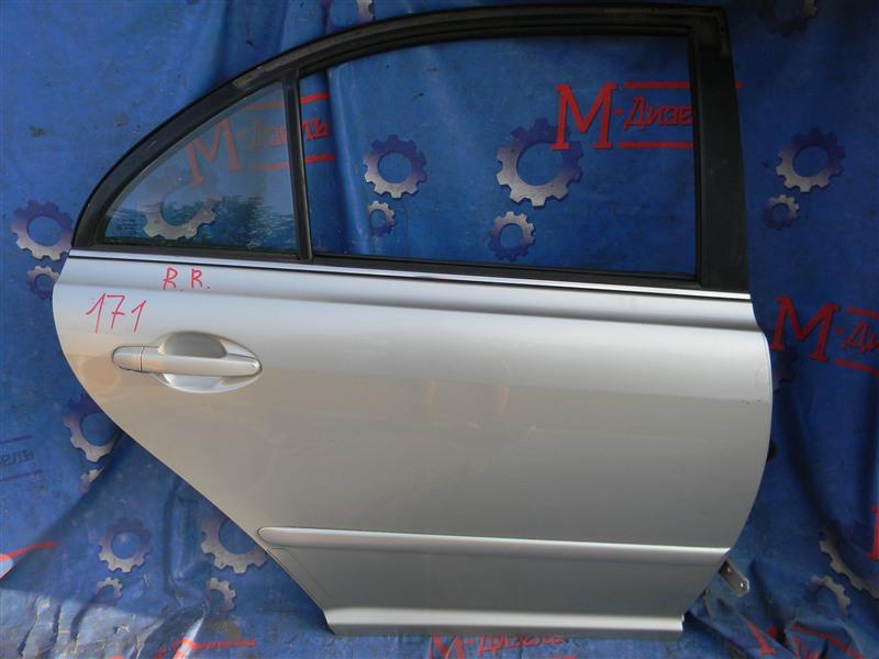 Дверь боковая Toyota Avensis AZT250 1AZ-FSE 2007 задняя правая