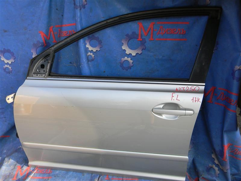 Дверь боковая Toyota Avensis AZT250 1AZ-FSE 2007 передняя левая