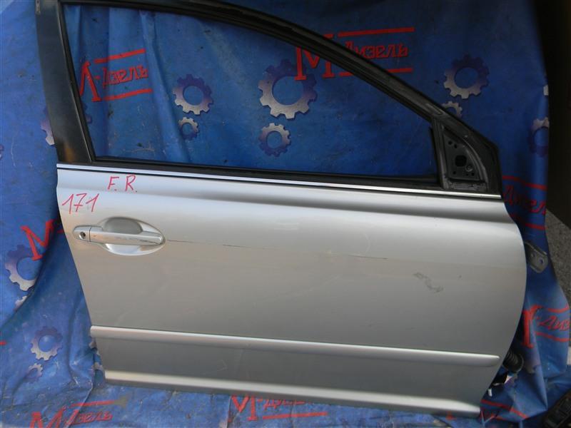 Дверь боковая Toyota Avensis AZT250 1AZ-FSE 2007 передняя правая