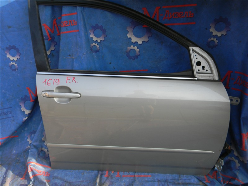 Дверь боковая Toyota Corolla NZE121 1NZ-FE 2001 передняя правая