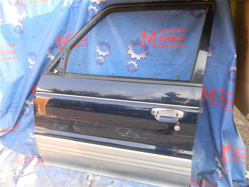 Дверь боковая Mitsubishi Pajero V26W 4M40-T 1995 передняя левая