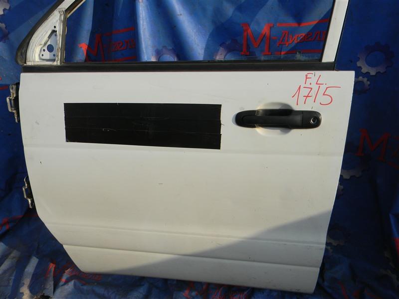 Дверь боковая Toyota Townace Noah KR42V 7K-E 2001 передняя левая