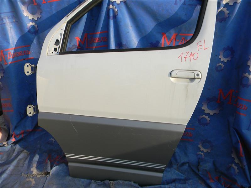 Дверь боковая Toyota Grand Hiace VCH10 5VZ-FE 2001 передняя левая
