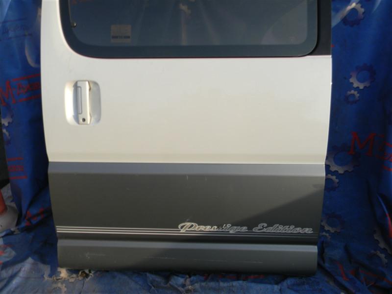 Дверь боковая Toyota Grand Hiace VCH10 5VZ-FE 2001 задняя левая