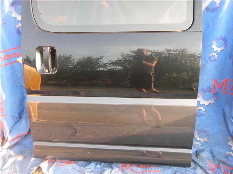 Дверь боковая Toyota Granvia VCH10 5VZ-FE 2001 задняя левая