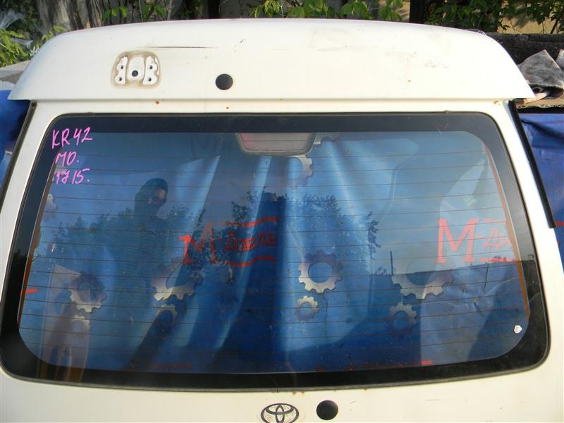 Дверь 5я Toyota Townace Noah KR42V 7K-E 2001
