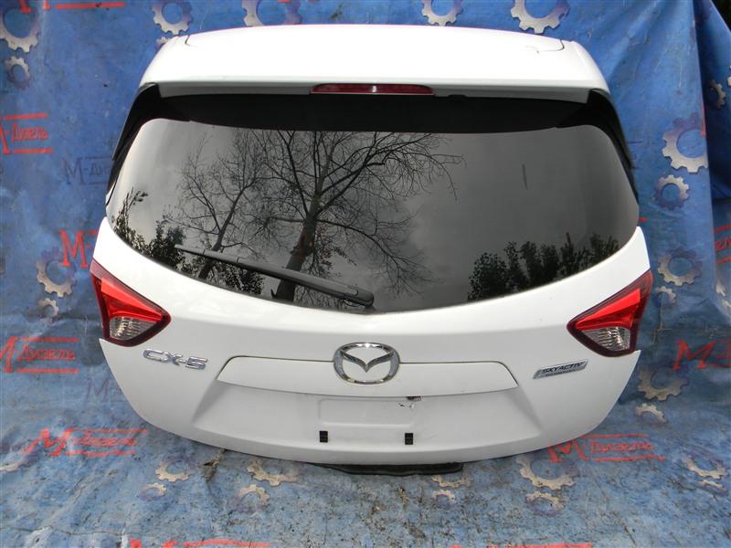 Дверь 5я Mazda Cx-5 KEEFW PE-VPS 2011