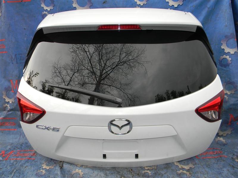 Дверь 5я Mazda Cx-5 KE2FW SH-VPTS 2012