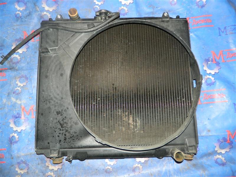Радиатор двигателя Mitsubishi Pajero V26W 4M40-T 1995