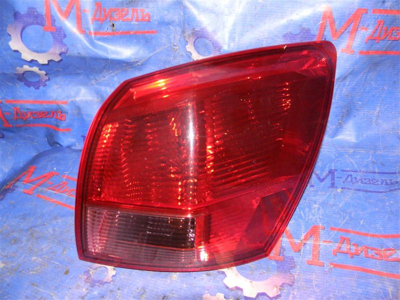 Стоп-сигнал Nissan Qashqai KJ10 MR20DE 2011 задний правый