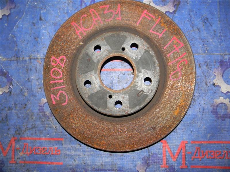 Диск тормозной Toyota Rav4 ACA31 2AZ-FE 2006 передний левый