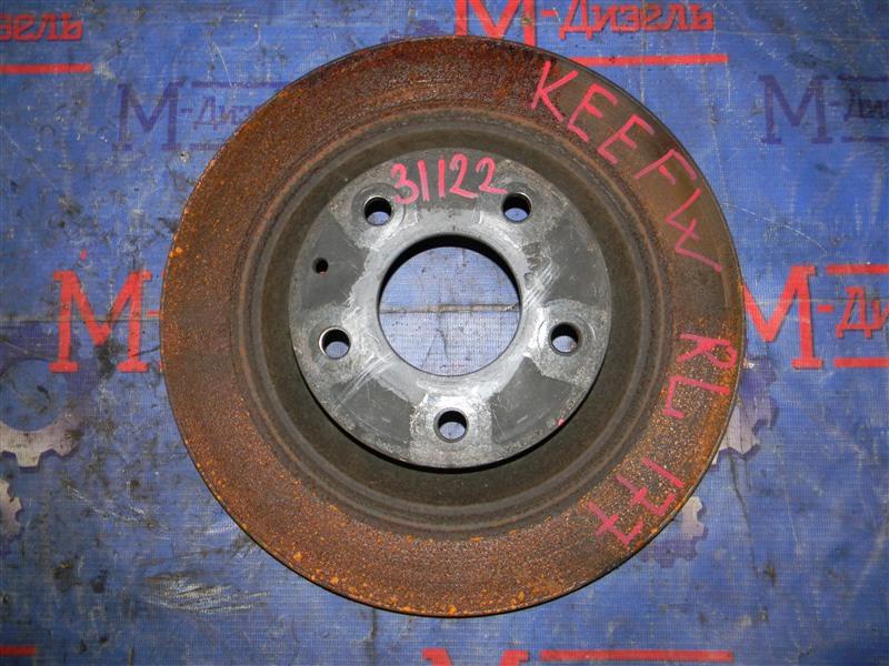 Диск тормозной Mazda Cx-5 KEEFW PE-VPS 2011 задний левый