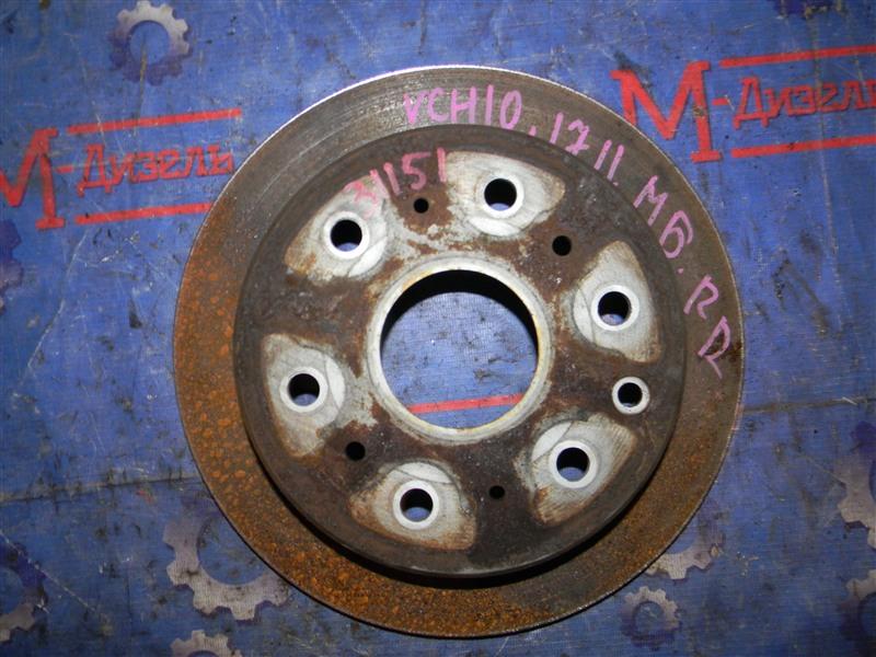 Диск тормозной Toyota Granvia VCH10 5VZ-FE 2001 задний правый