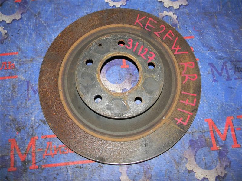 Диск тормозной Mazda Cx-5 KE2FW SH-VPTS 2012 задний правый