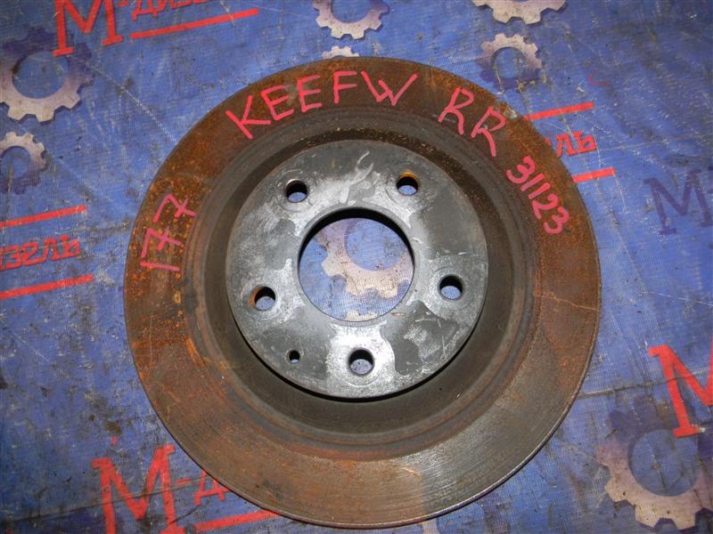 Диск тормозной Mazda Cx-5 KEEFW PE-VPS 2011 задний правый