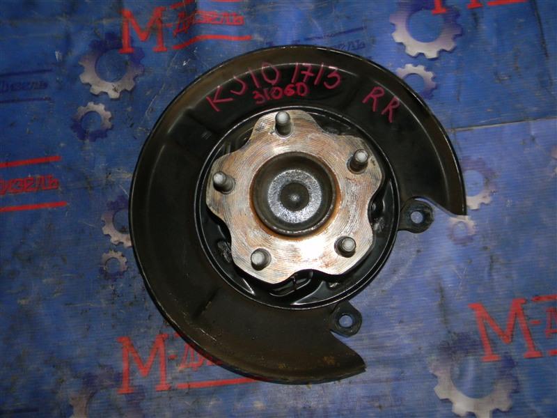 Ступица Nissan Qashqai KJ10 MR20DE 2011 задняя правая