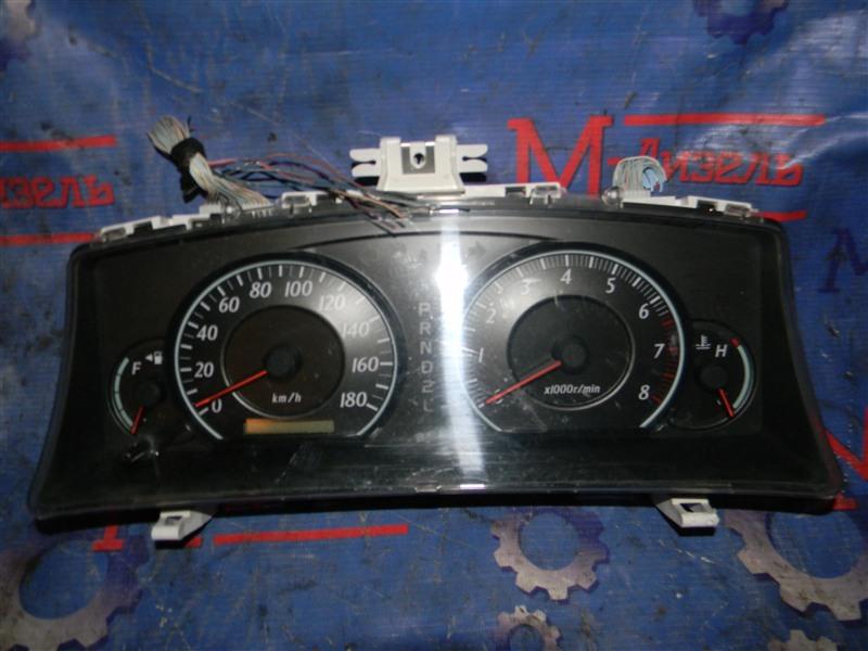 Панель приборов Toyota Corolla Fielder NZE124 1NZ-FE 2005
