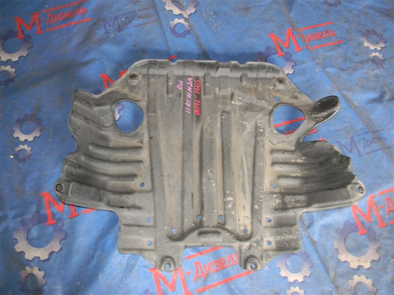 Защита двигателя Toyota Granvia VCH10 5VZ-FE 2001 передняя