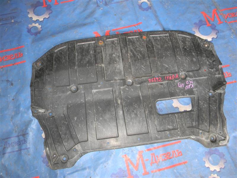 Защита двигателя Nissan Qashqai KJ10 MR20DE 2011 передняя