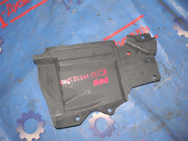 Защита двигателя Nissan Qashqai KJ10 MR20DE 2011