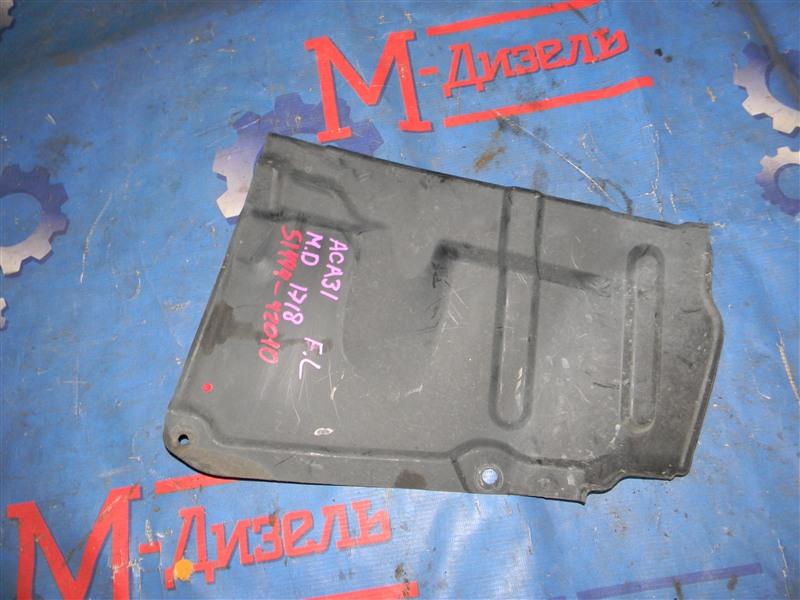 Защита двигателя Toyota Rav4 ACA31 2AZ-FE 2006 передняя левая