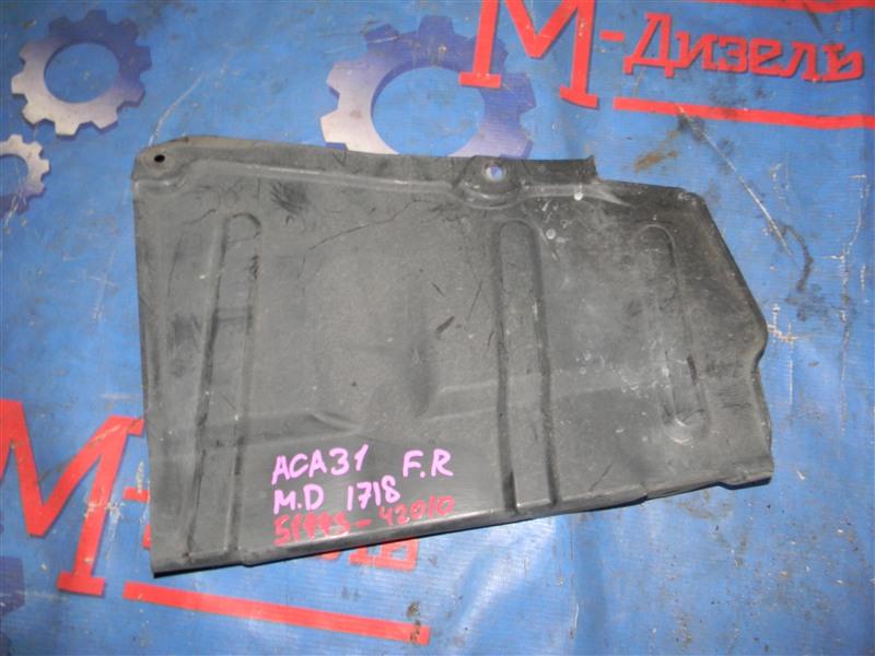 Защита двигателя Toyota Rav4 ACA31 2AZ-FE 2006 передняя правая