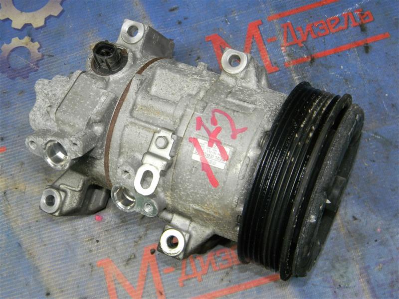Компрессор кондиционера Toyota Avensis AZT251 2AZ-FSE 2007