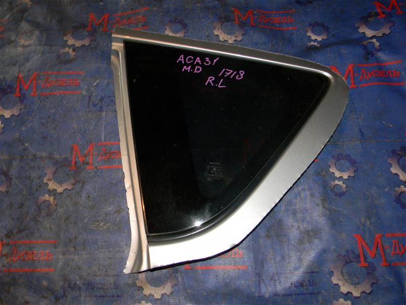 Стекло собачника Toyota Rav4 ACA31 2AZ-FE 2006 заднее левое