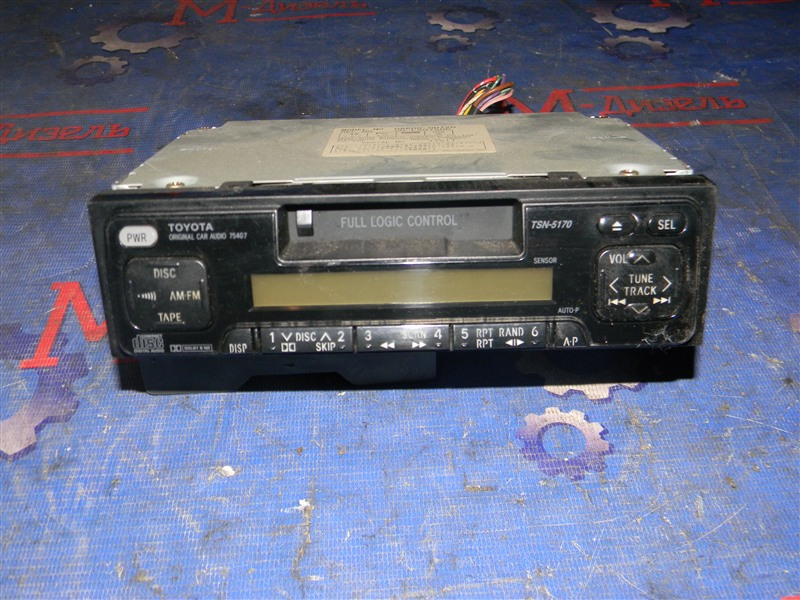 Магнитофон Toyota Corolla AE110 5A-FE 1998