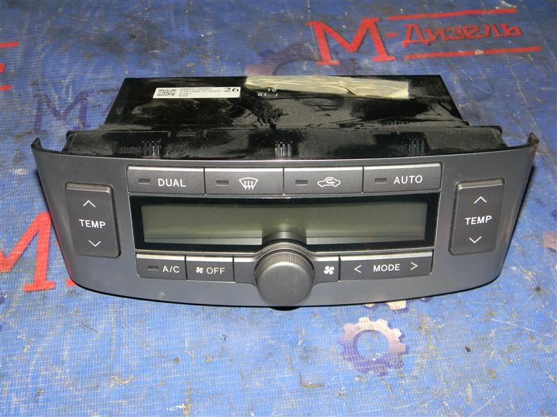 Блок управления климат-контролем Toyota Avensis AZT251 2AZ-FSE 2007