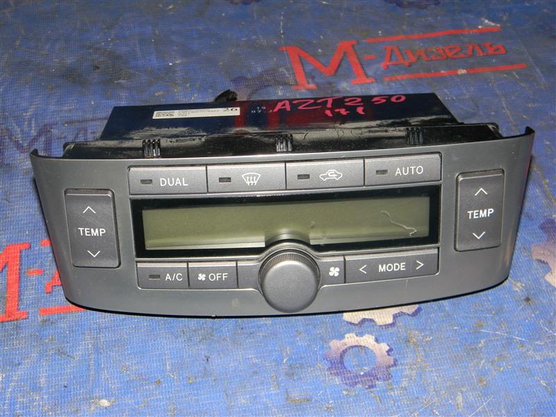 Блок управления климат-контролем Toyota Avensis AZT250 1AZ-FSE 2007