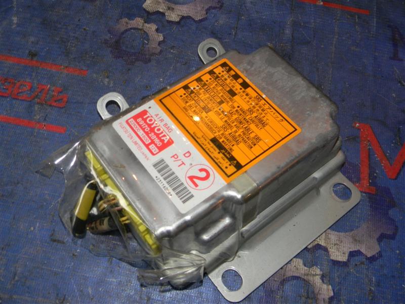 Блок управления airbag Toyota Townace Noah CR52 3CE 2001