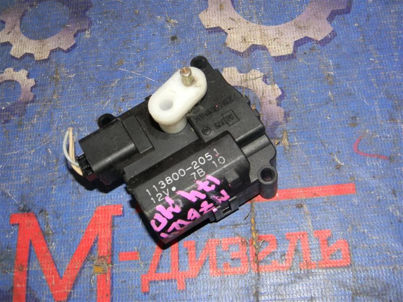 Привод заслонок отопителя Toyota Corolla NZE124 1NZ-FE 2000