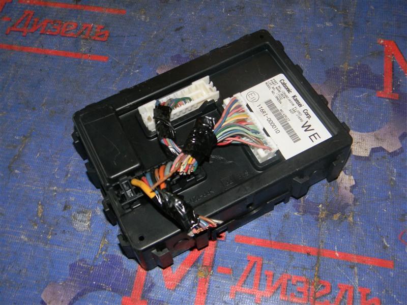 Блок управления Nissan Qashqai KJ10 MR20DE 2011
