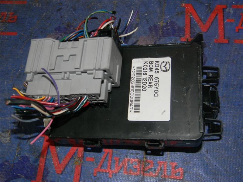 Блок управления Mazda Cx-5 KEEFW PE-VPS 2011