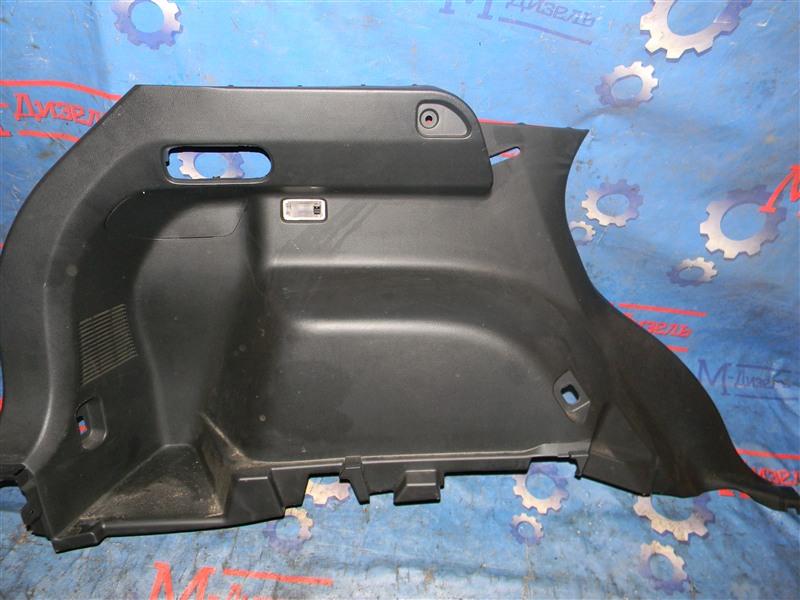 Обшивка багажника Mazda Cx-5 KE2FW SH-VPTS 2012 задняя левая нижняя
