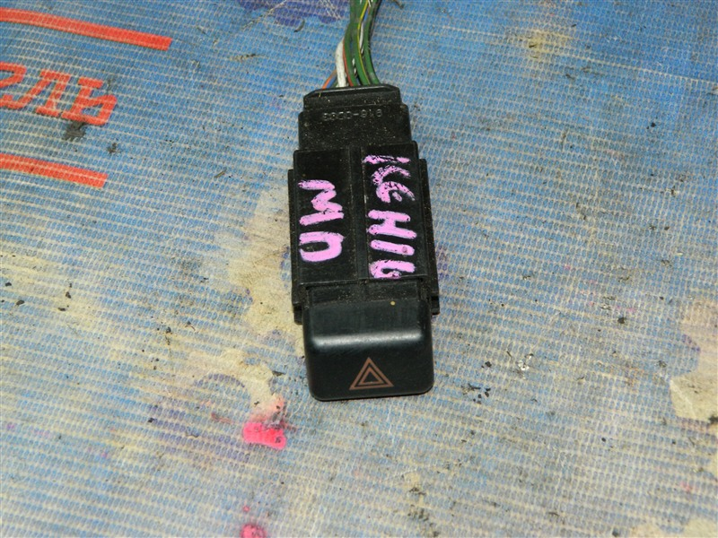 Кнопка аварийной сигнализации Toyota Granvia KCH16W 1KZ-TE